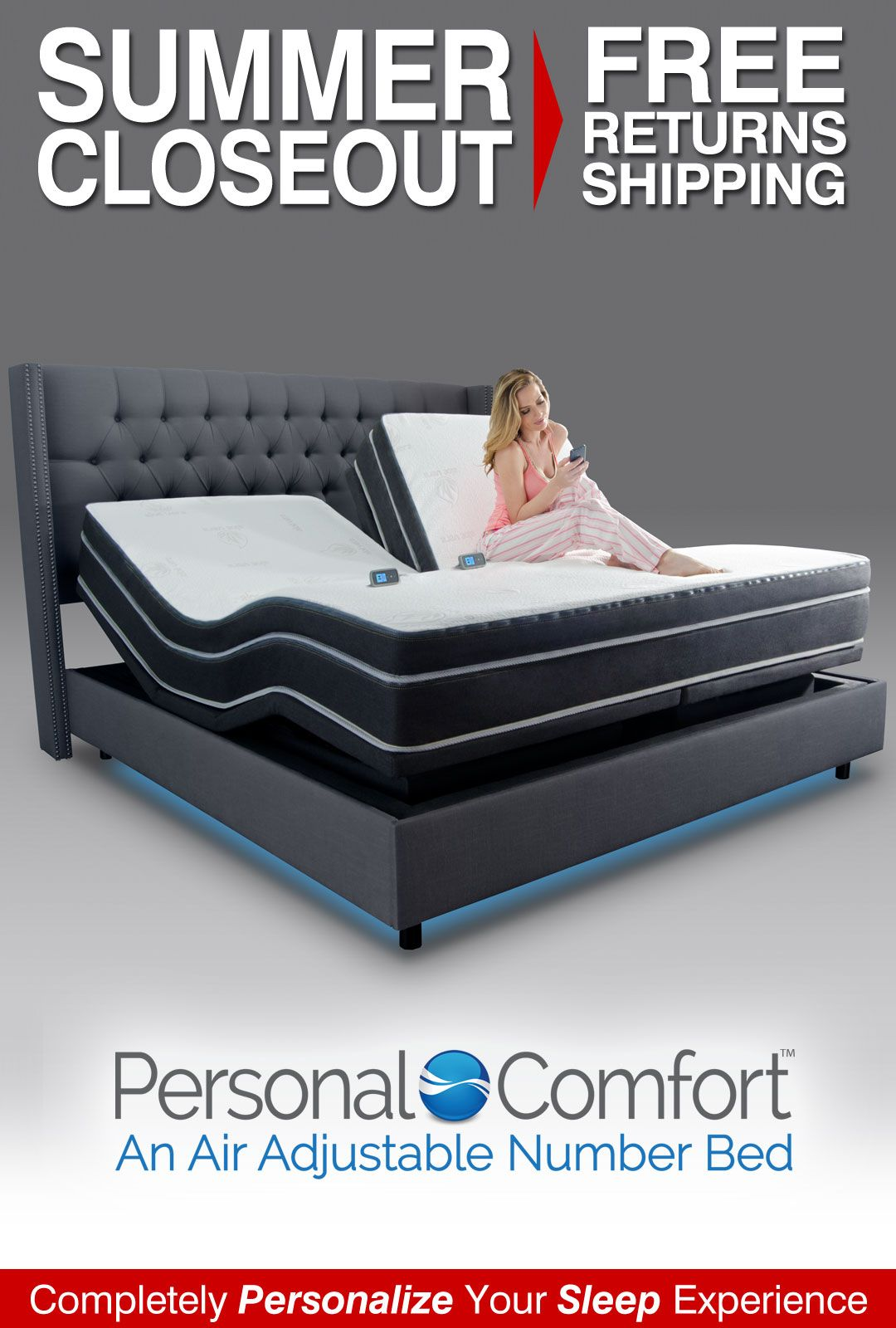 Omg I Want This I Even Like The Headboard Adjustable Beds