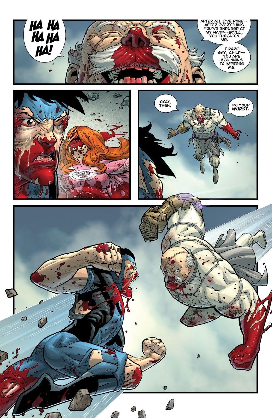 Invincible Comics Issue#64 Invincible vs Conquest | Invincible ...