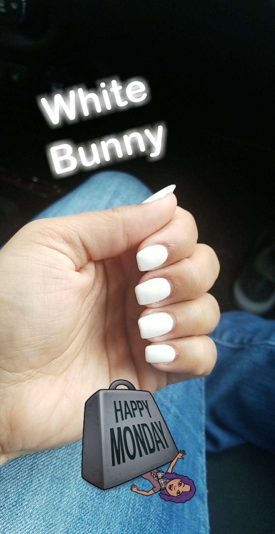 Dnd Gel White Bunny Naturalnails Dip Nail Colors Glitter Gel Nails