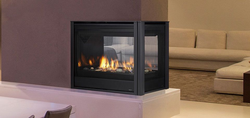 Pearl Ii Peninsula Direct Vent Gas Fireplaces By Majestic Products