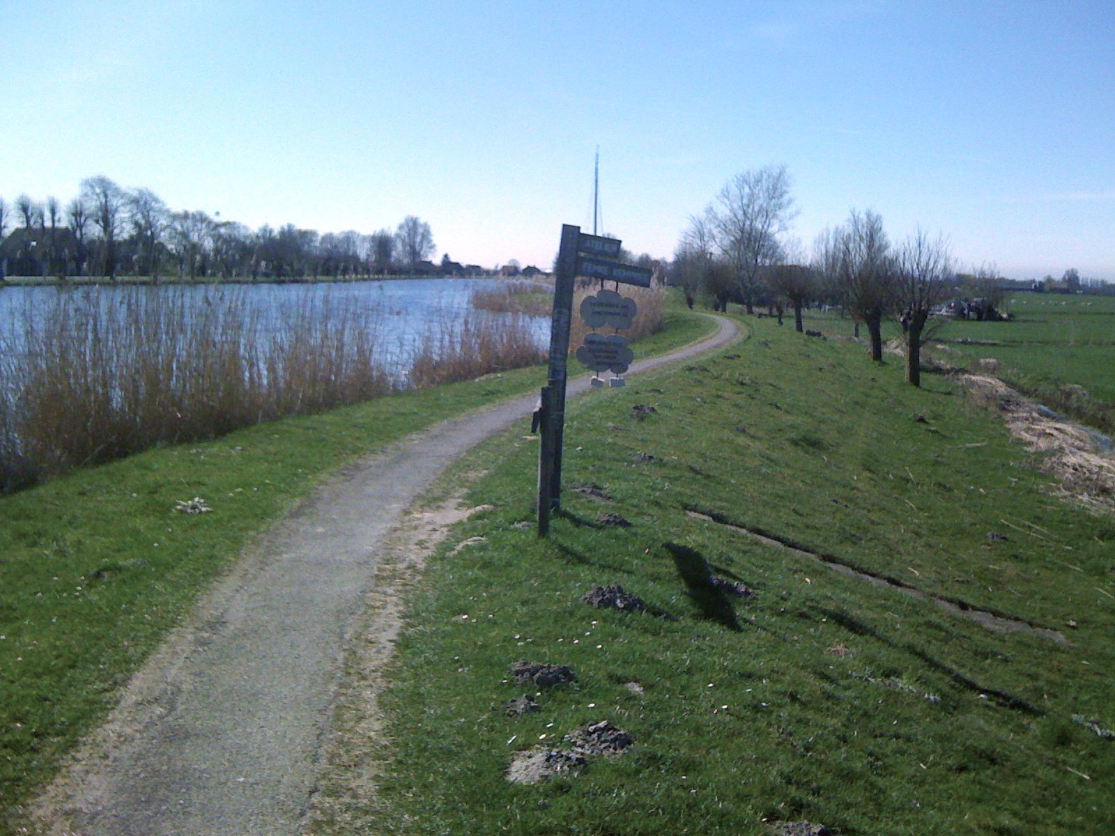 Jaagpad langs de Amstel - Fietstocht van Amsterdam naar Den Haag