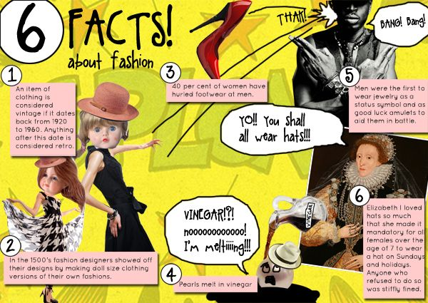 6 Fun Facts About Fashion