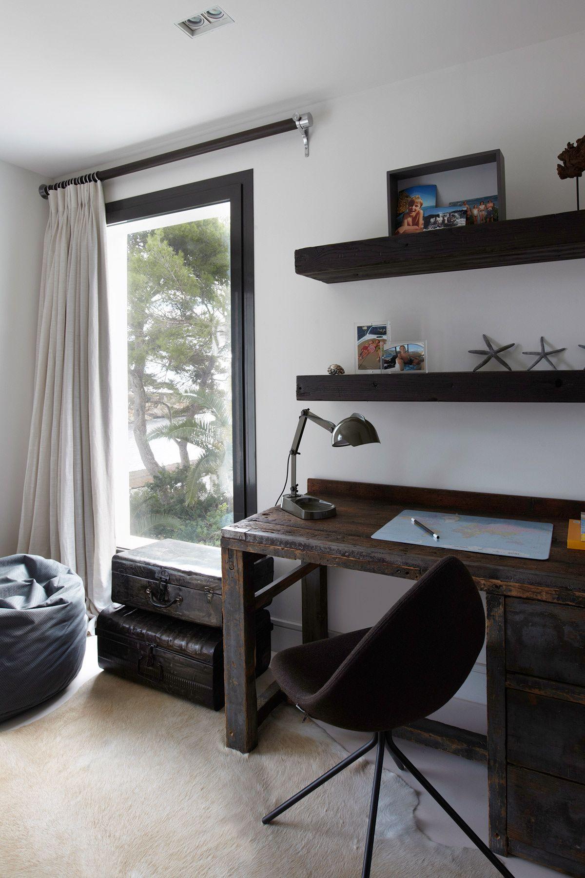 Una Villa Contempor Nea Y Elegante En Baleares Materiales  # Muebles Postmodernos