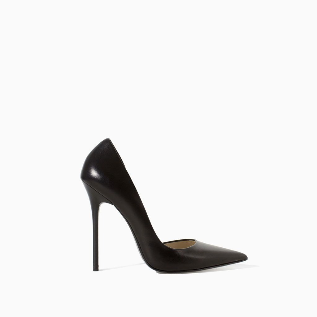 e8d0adf996e ZARA - WOMAN - LEATHER STILETTO SHOES. Should buy these to replace my Nine  West.