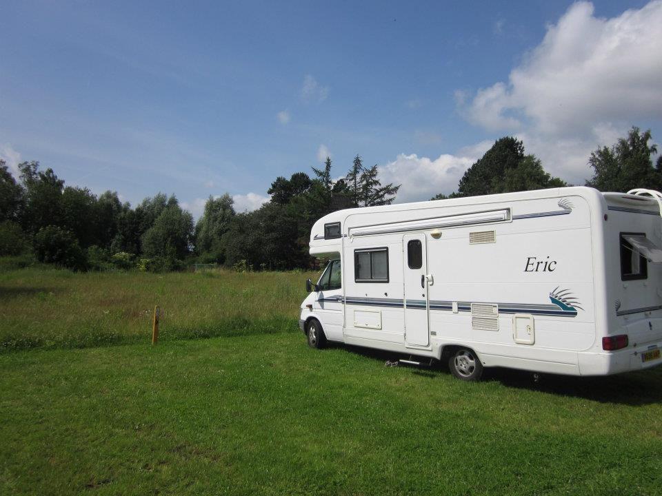 Campsite in Schleswig, Schleswig-Holstein, Germany