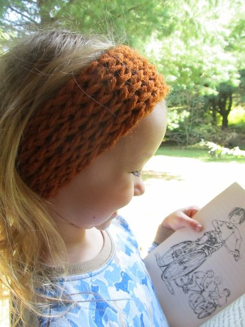 This Mama Knits: Figure-Eight Reversible Headband/Ear-warmer Picture ...