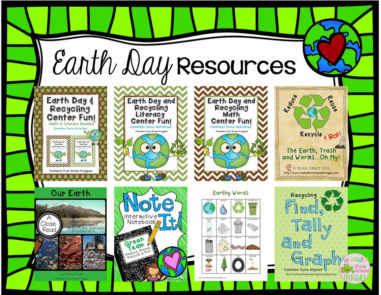 Earth Day Resources (Freebie Throwback)