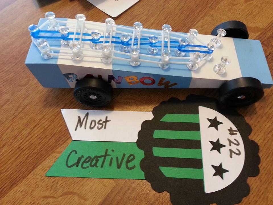 Pinewood derby car   Rainbow loom ideas   Pinterest   Best ...
