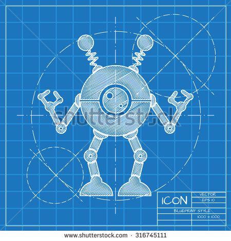 Image result for toy blueprints VBS PreK Pinterest Toy - new robot blueprint vector art