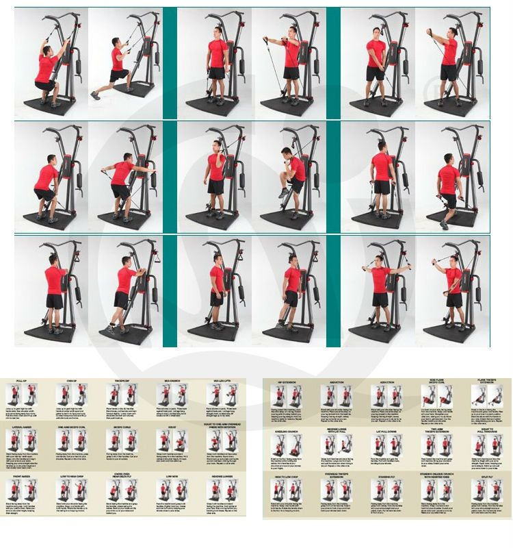 Weider 2980 Home Gym Exercises: Home Workouts: Weider X Factor Home Gym Workouts