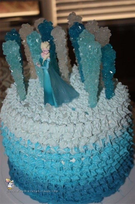 Coolest Frozen Elsa Cake Elsa cakes Birthday cakes and Cake
