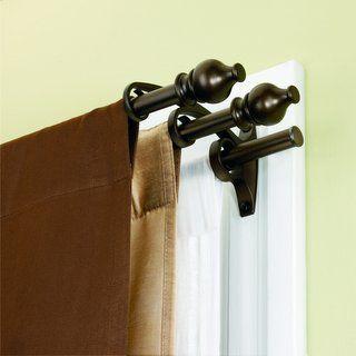 Kirsch Double Lock Seam Curtain Rod | Cheap Curtain Sale