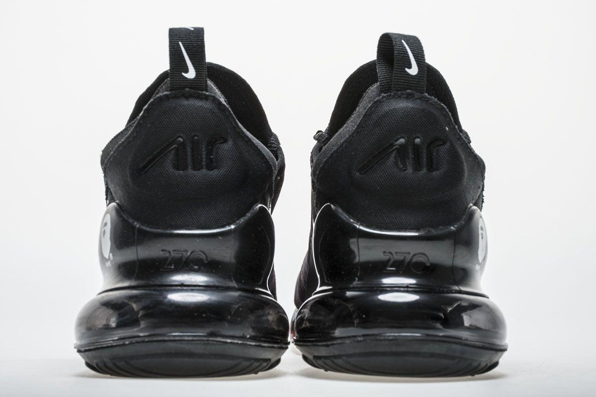 Bape x Nike Air Max 270 AH6799-012 Grey Shoes5  28b4fef333