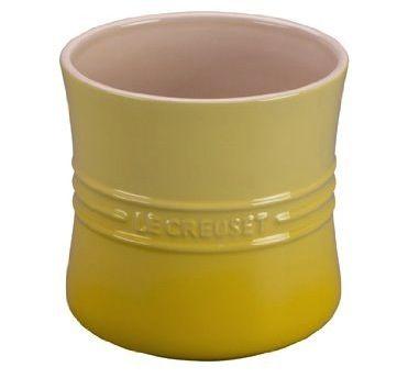 Le Creuset Utensil Crock Soleil Yellow The Stoneware Utensil