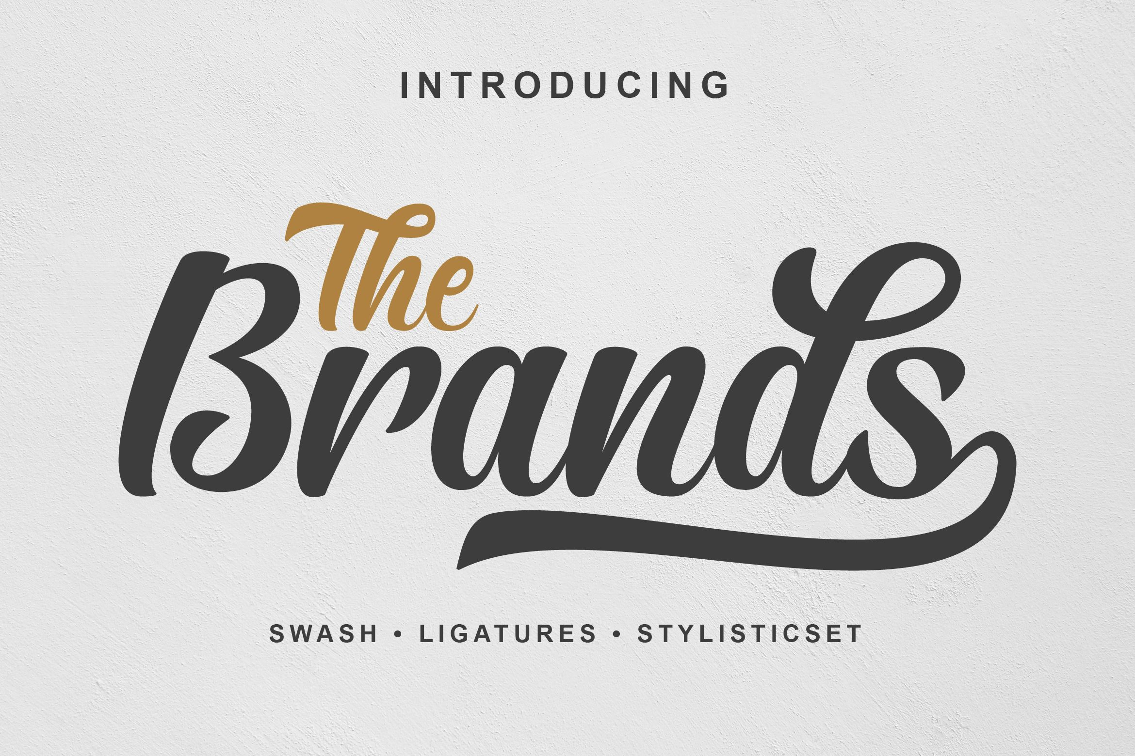 The Brands (Font) by Ef Studio
