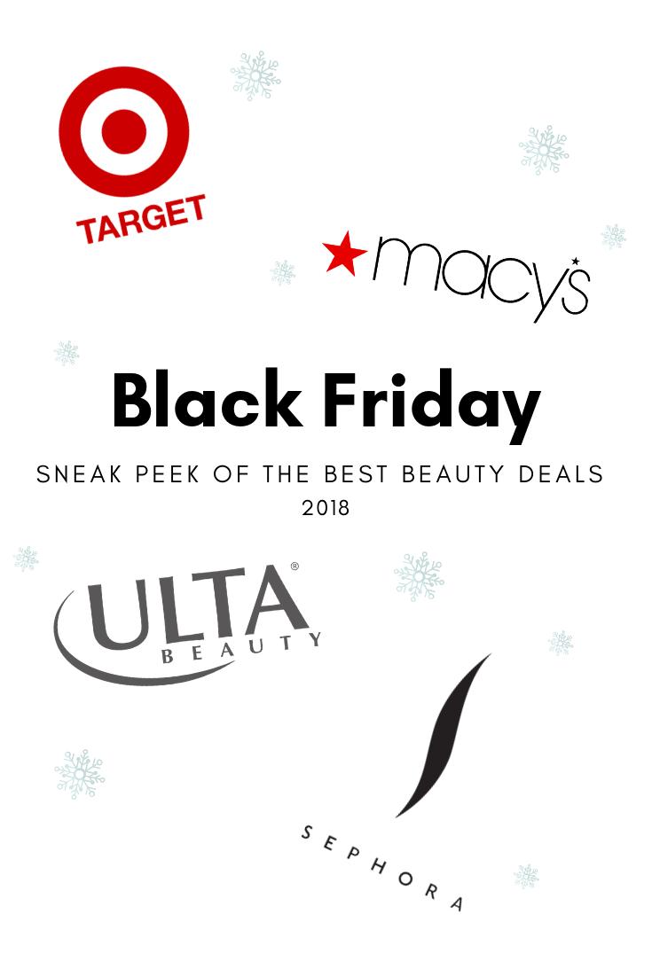 Black Friday 2018 Sneak Peek Beauty And Makeup Deals You Can T Resist Beauty Deals Beauty Black Friday Beauty