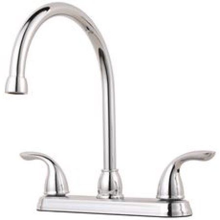 Home Improvement Faucet Polished Chrome Kitchen Handles