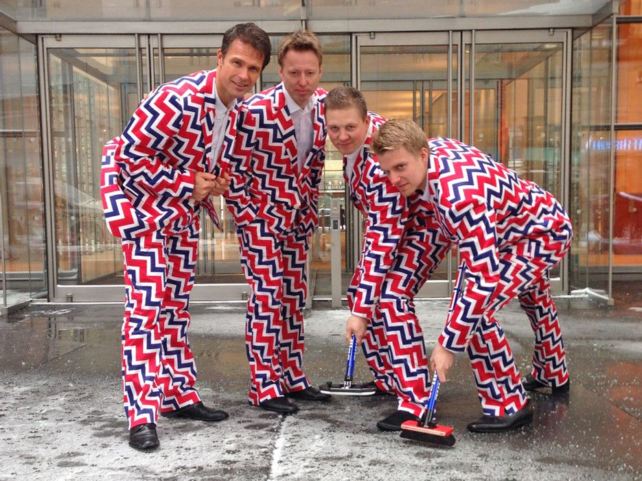 The Norway Curling Team's Pants A Photographic History