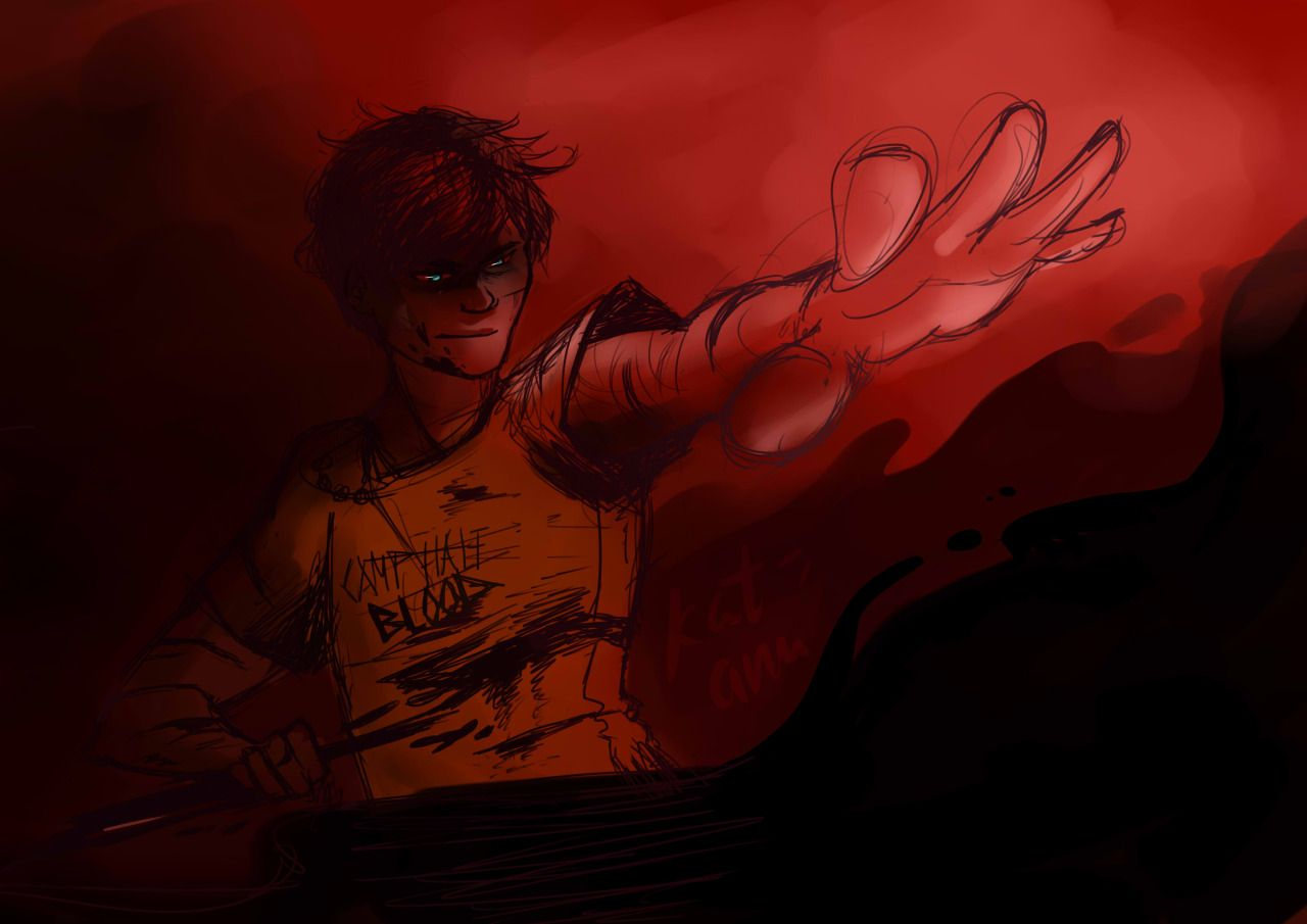 Dark Percy, that part when he controlled the poison in Tartarus