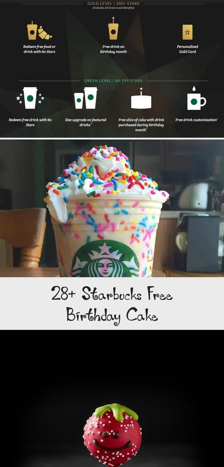 28+ Starbucks Free Birthday Cake in 2020 Starbucks, Cake