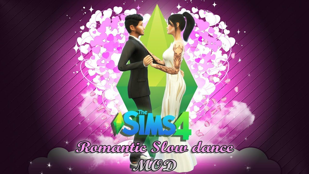 The Sims 4 Romantic Slow Dancing -MOD- | sims 4 | Sims 4