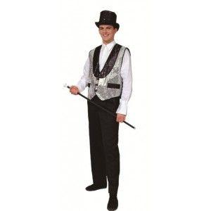 68a19b1a6ebdd Déguisement gilet cabaret argent adulte homme.  http   www.baiskadreams.com 772-deguisement-gilet-cabaret-argent-homme.html