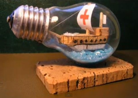 video tutorial how to build a ship in a bulb