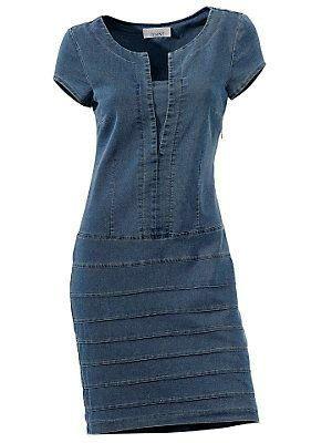 vestido de jean.