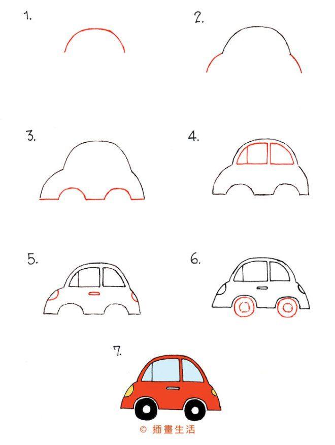 Etwas Neues genug 30_car | Art: draw transportation:land/see/air | Pinterest | Auto &XN_09