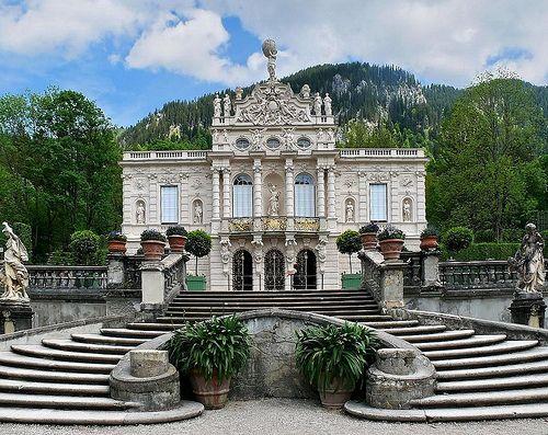 Schloss Linderhof Schloss Linderhof Schlosser Deutschland Linderhof