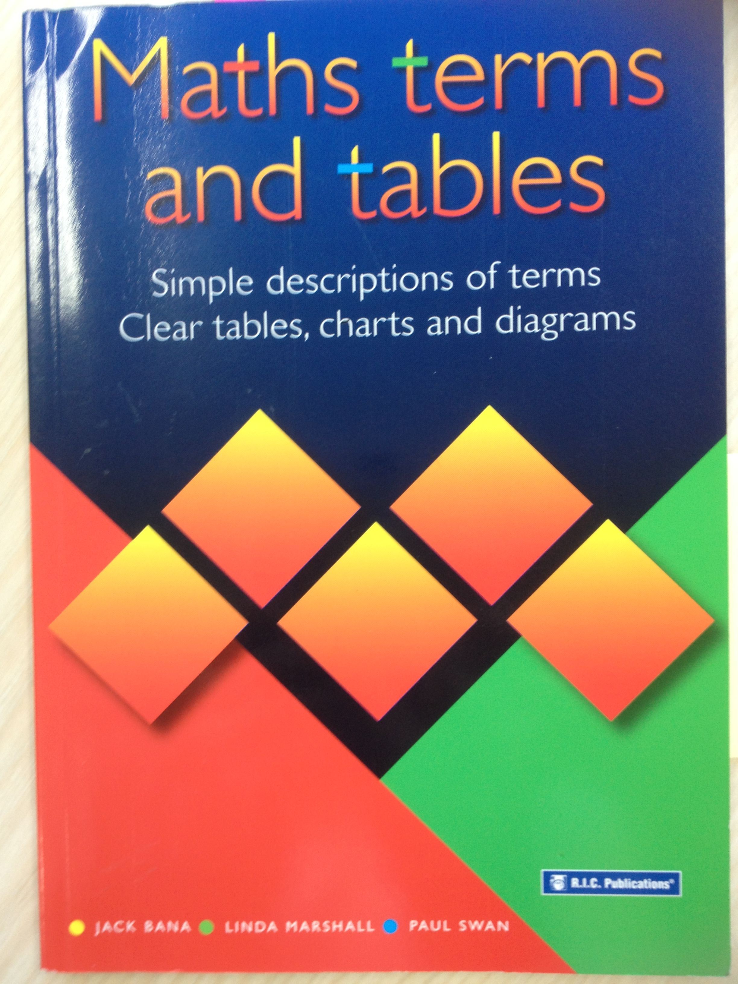 Must Have Maths Dictionary For Teachers And Students