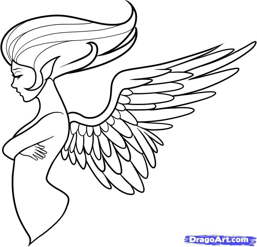 drawing angel - Pesquisa Google