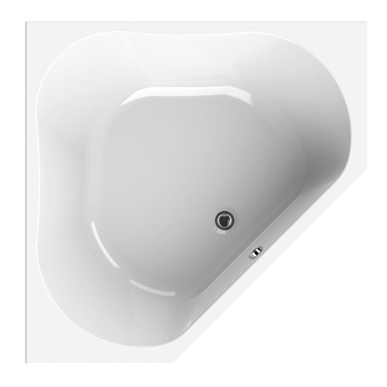 Baignoire Premium Design baignoire d'angle l.140x l.140 cm blanc, sensea premium design