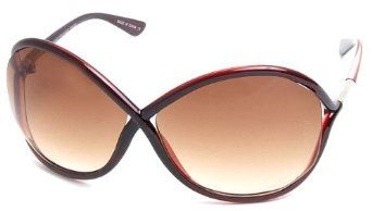 b79f1ca1efd Red Frame Celebrity Oversized Sunglasses Real Housewives Sunglasses NYS.   15.95