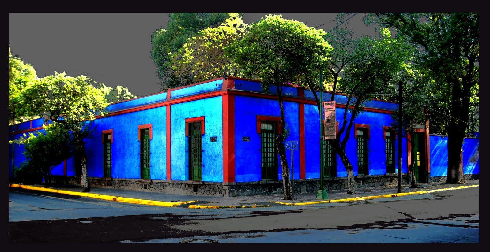 Frida Kahlo Blue House Mexico City Frida And Diego Frida Kahlo