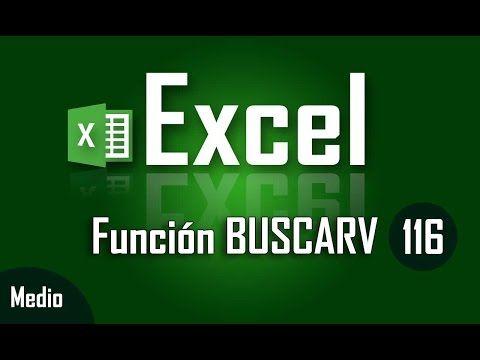 Como Usar La Función Buscarv En Excel Capítulo 116 Cursos Gratis De Computacion Hojas De Cálculo Informática