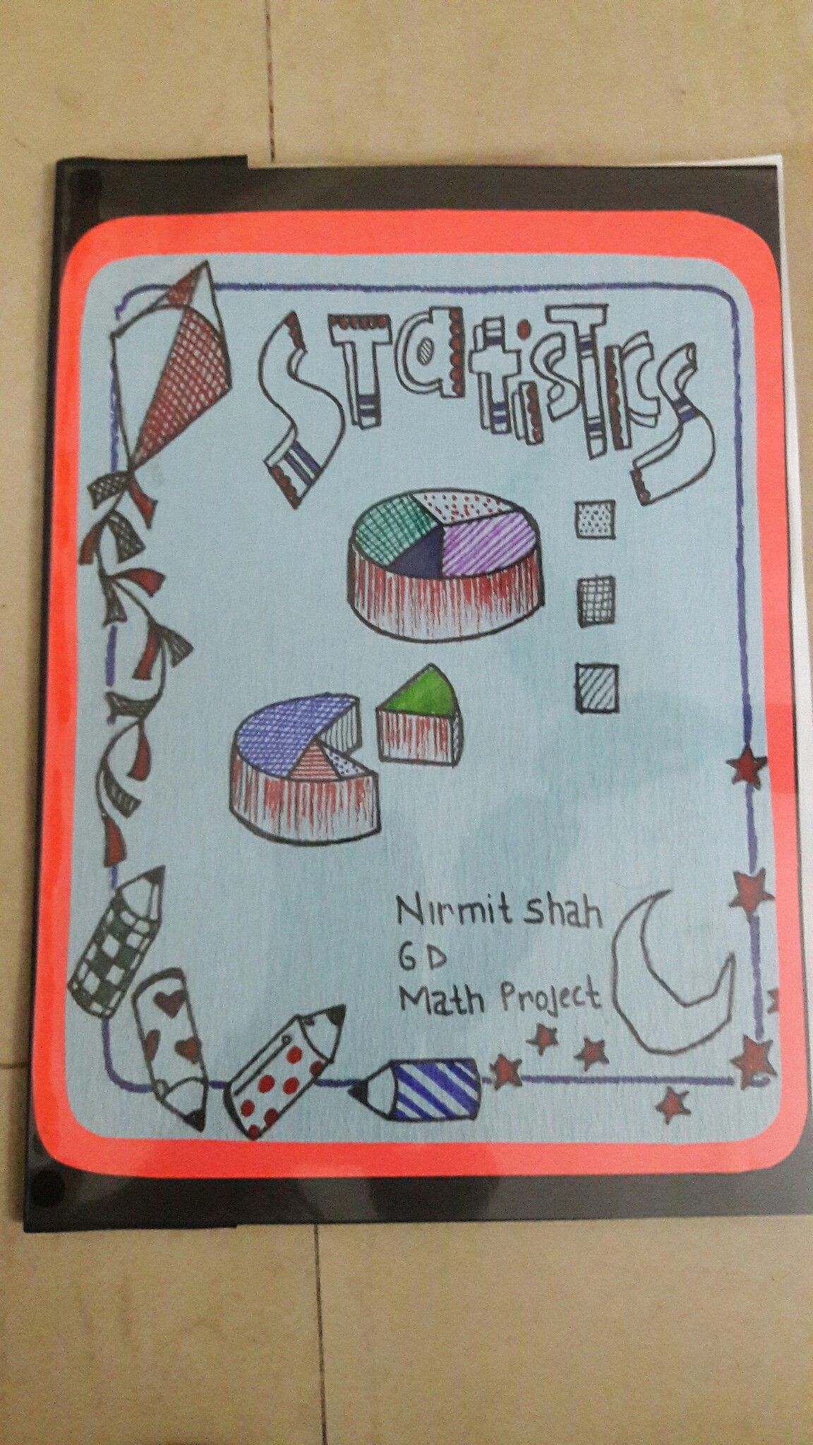 pinsweta shah on project coverpage ideas | math
