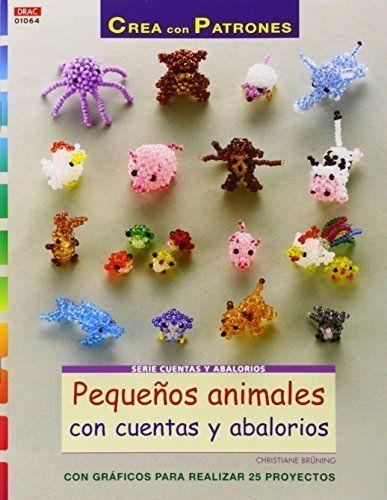 66a3153691d4 Crea Con Patrones. Pequeños Animales Con Cuentas Y Abalorios ...