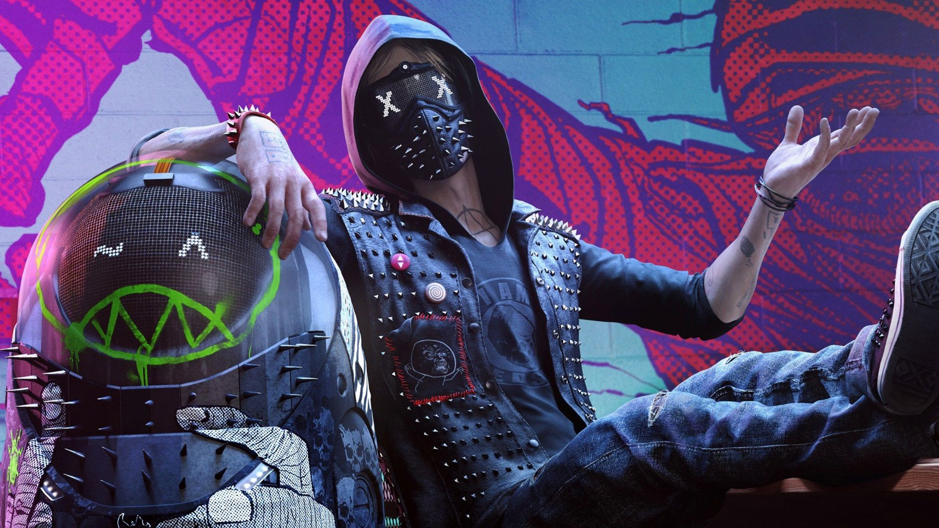 1920x1080 Wrench Free Download Wallpaper For Pc Wrench Watch Dogs 2 Watch Dogs Watch Dogs 1