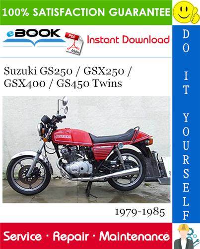 Suzuki Gs400 Gs450 Twins Motorcycle Service Repair Manual 1977 1983 Download Suzuki Repair Manuals Repair