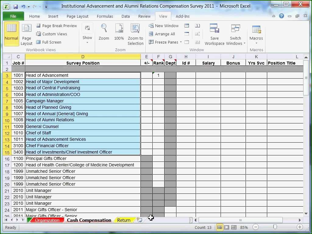 16 First Rate Survey Results Excel Template Of 2020 Excel Templates Excel Spreadsheets Spreadsheet