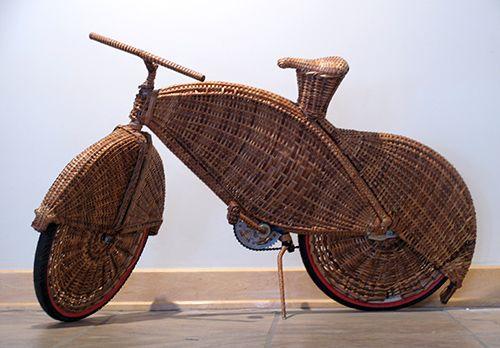 Korb Bike Human Powered Vehicles Weben Fahrrad Korb