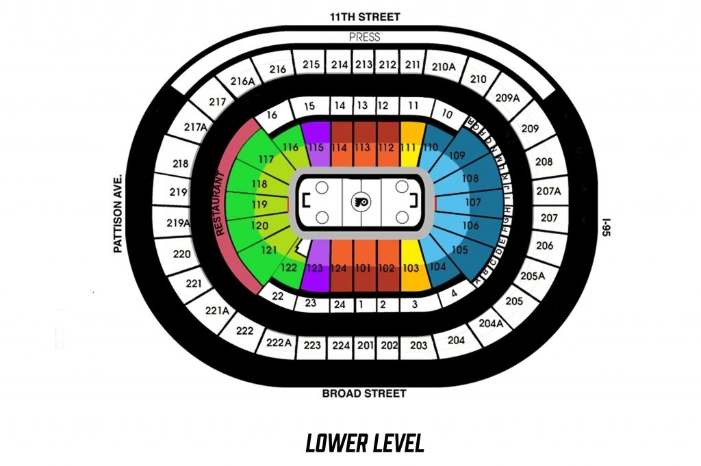 The Most Stylish In Addition To Attractive Wells Fargo Seating Chart Sixers Wells Fargo Center Seating Charts Wells Fargo