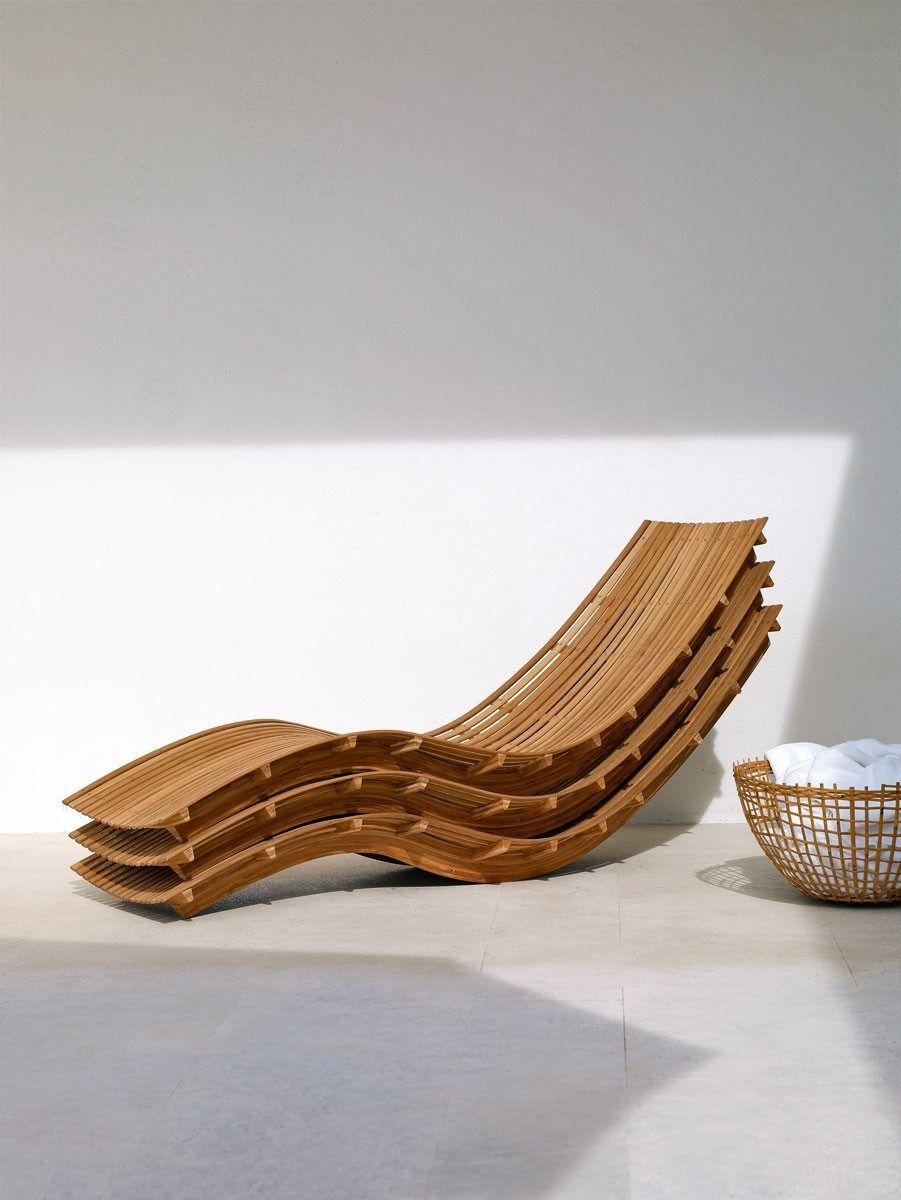 SWING | Lettino da giardino Collezione Swing By Unopiù | Furniture ...