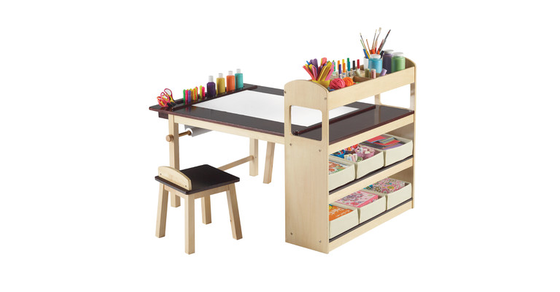 Guidecraft Deluxe Art Center - 27% off, found on sale for 327.99, @ALL MODERN