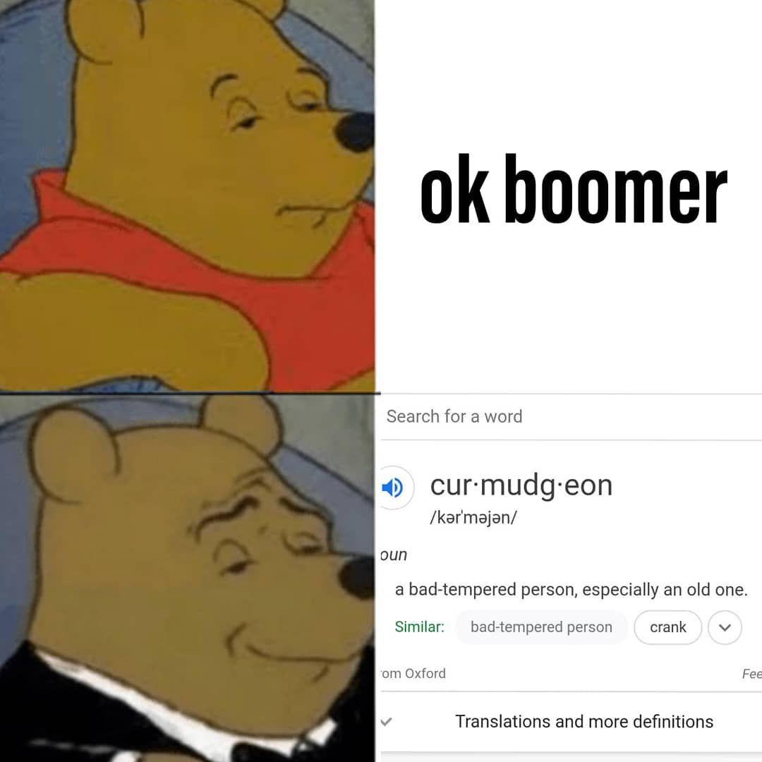 Pin On Ok Boomer Memes