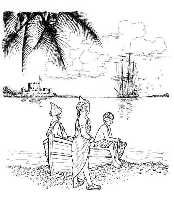 coloring page Slavery Revolt on the Amistad | Coloring pages ...