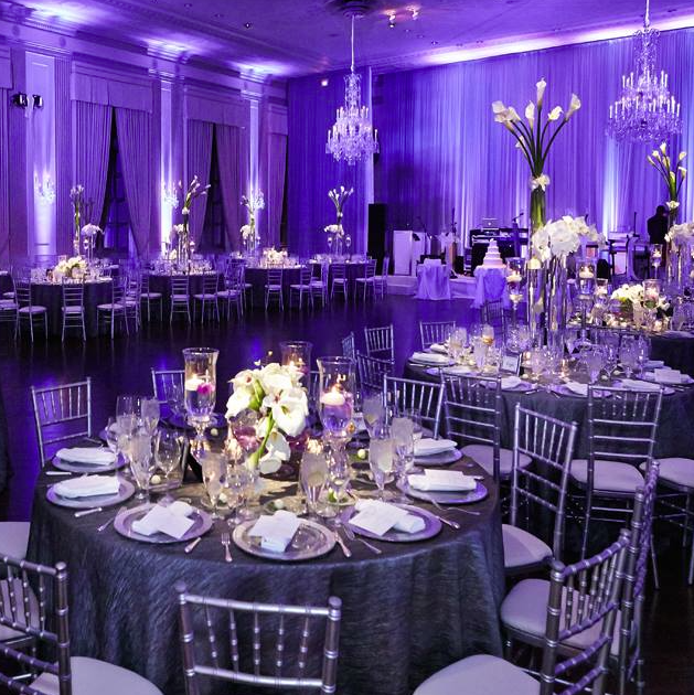 Dazzling Wedding Inspiration Wedding Reception Lighting