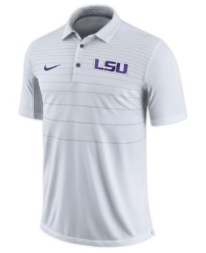 a0ef580865c6 Nike Men s Lsu Tigers Early Season Coach Polo - White XXL