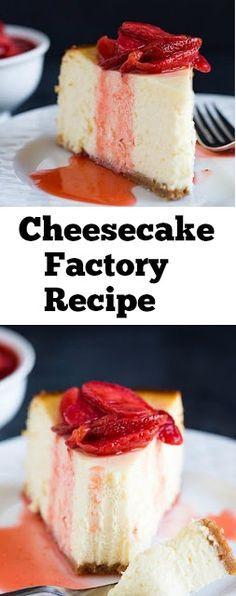 Cheesecake Factory Recipe #cheesecake #cakes #desserts #cheesecakefactory #easycake #ketocake #easycheesecake #whole30 #cheesecakefactoryrecipes